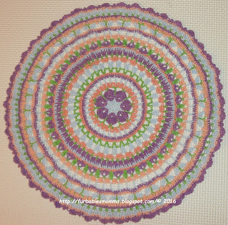 Springtime Magic Mandala