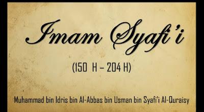 IMAM SYAFII: nasehat sang guru kepada muridnya