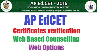 AP Ed.CET Web Counselling 2017 with Counselling Dates