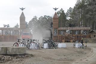 Велосипеды на полигоне ТБО