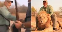 Κυνηγός σκότωσε λιοντάρι την ώρα που το ζώο κοιμόταν και το βίντεο προκαλεί παγκόσμια οργή