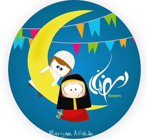 تصاميم عن شهر رمضان maryam alfahim
