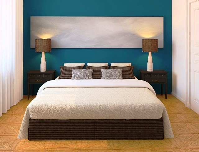 modern painting ideas for bedrooms