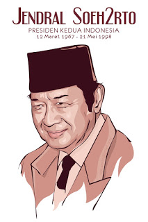 Download Vector Soeharto CDR