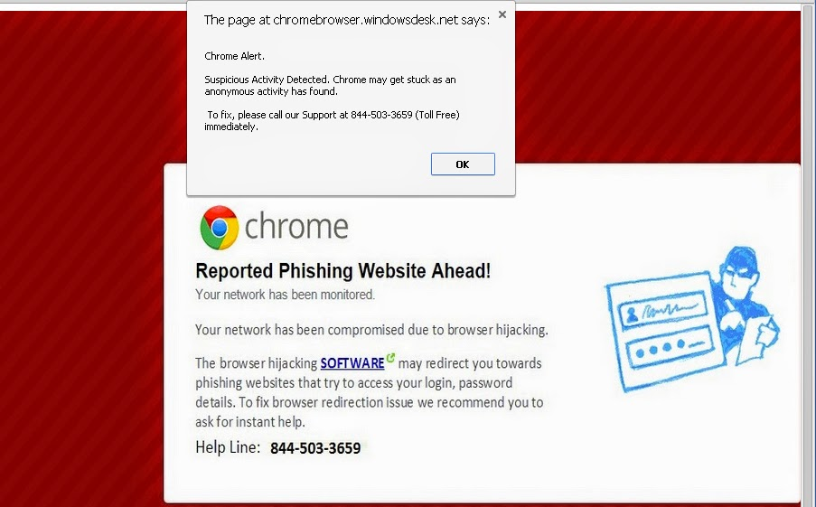 Virus Removal Instruction: How to Block Chromebrowser