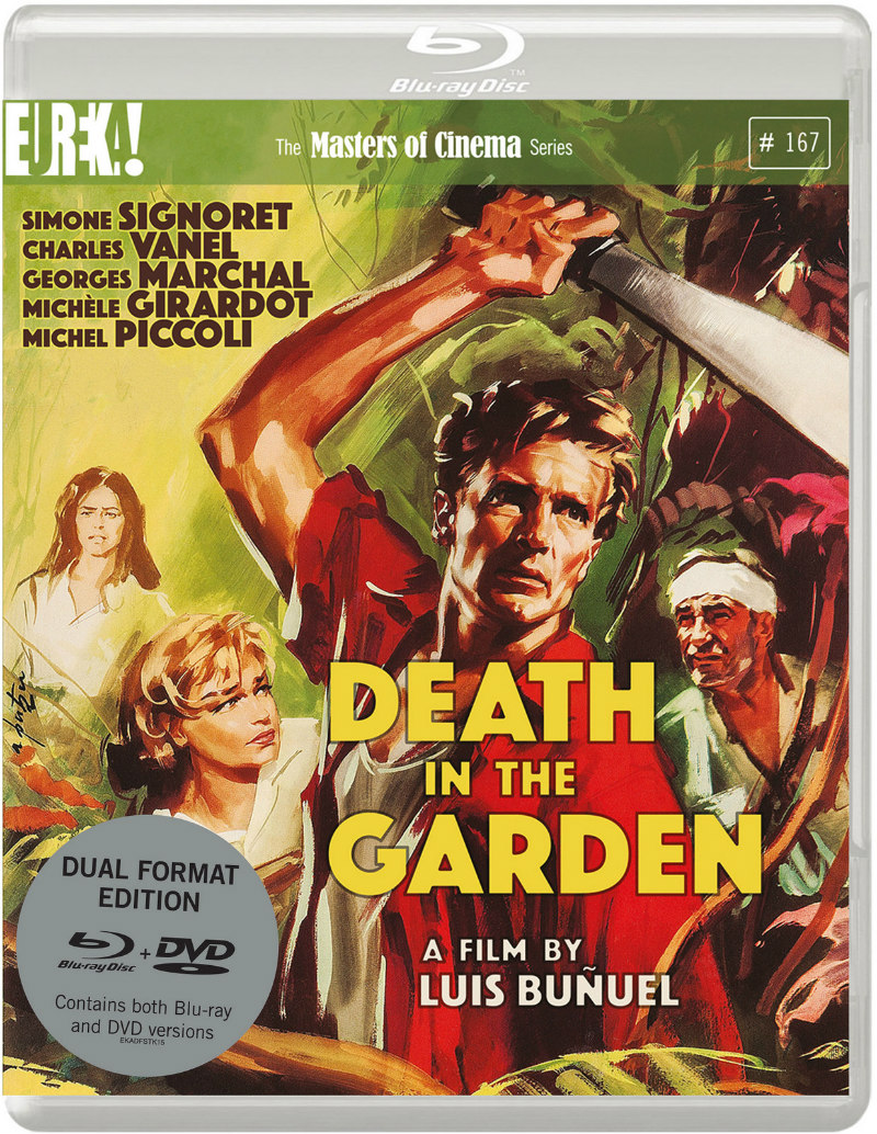 death in the garden blu-ray