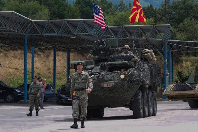 Αποτέλεσμα εικόνας για Τα Σκόπια λαμβάνουν μέρος σε στρατιωτική άσκηση του ΝΑΤΟ με το όνομα ''Μακεδονία''»