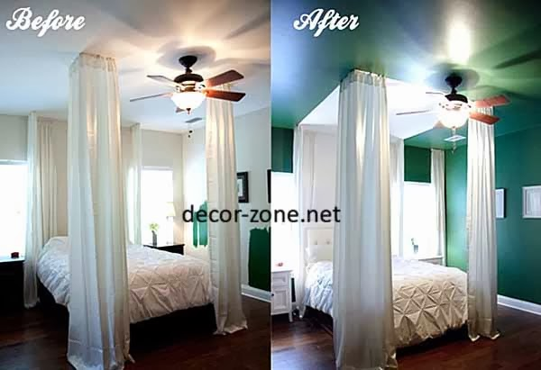 light green paint color ideas with spotlights