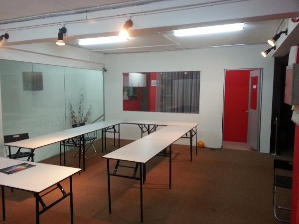 ruang bilik mesyuarat dan pejabat untuk disewa