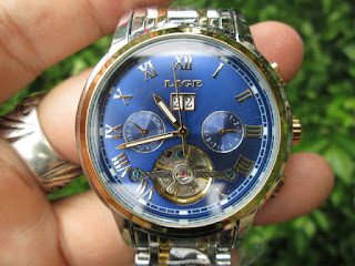 LIGE 9813 Automatic Mechanical Watch Stainless Steel Waterresistant