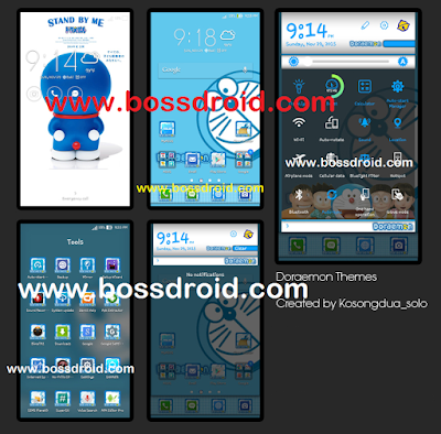 Theme Doraemon For Asus Zenfone 2 , 4 , 5 , 6