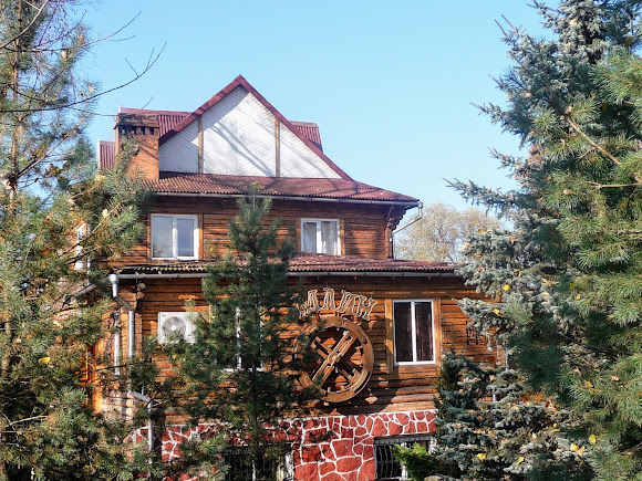 Тяпче. Ресторан «Млин» на трассе Львов – Ивано-Франковск