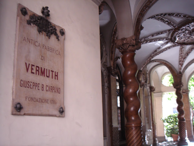 Italian drink: Vermuth from 1786