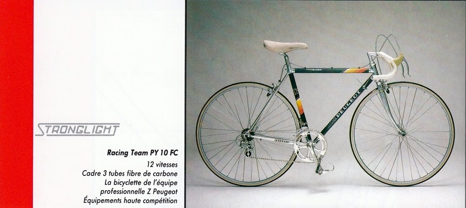 ON THE DROPS: The Space Ace Racing Bike: Peugeot PY-10FC