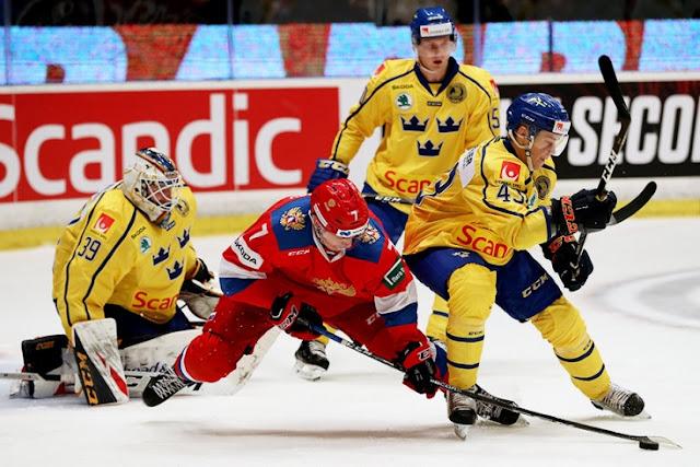 Хоккей: МЧМ-2020. 1/2 финала. Россия – Швеция (4 января 2020) смотреть онлайн. Прямая трансляция