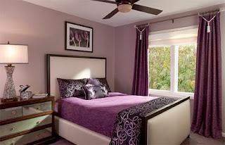 Habitación púrpura