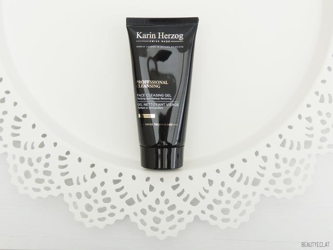 revue avis test karin herzog soins visage maquillage