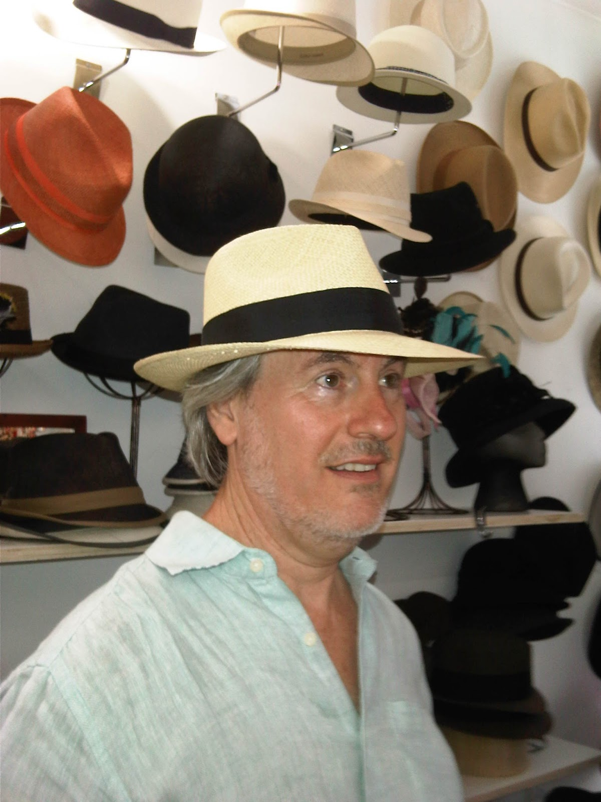 60ae019d There is a resident hatter onsite at The Hat House that can also make a  custom or customized Panama Hat for you if you are so inclined.