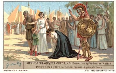Resultado de imagem para Ifigénia de Aúlis
