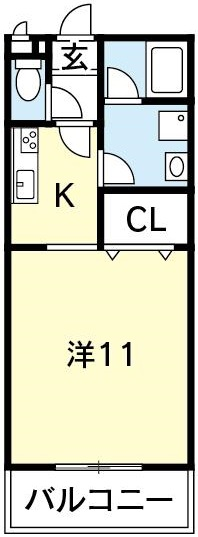 徳島 賃貸 一人暮らし 単身 社宅 空港 ロジェ 家具家電付き 松茂 築浅 マンション