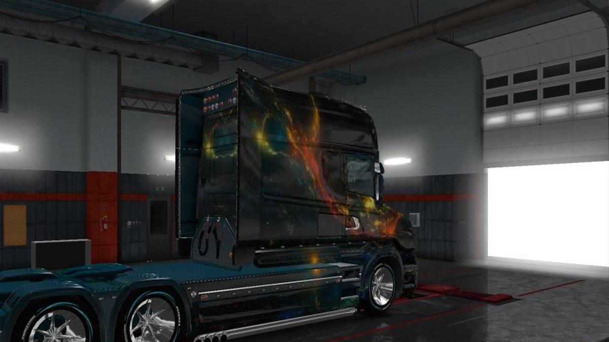 Scania T Kosmos skin v1