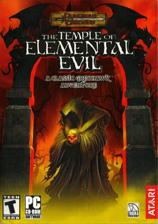 The Temple of Elemental Evil Download Cover Free Game