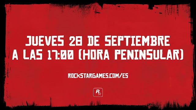 El 28 de septiembre habrá nuevo vídeo de Red Dead Redemption 2