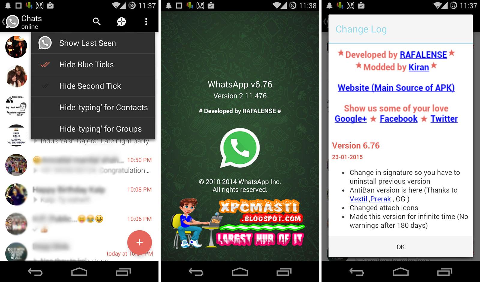 Whatsapp plus cracked 6 4