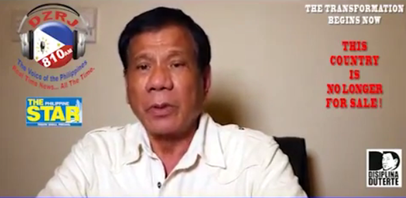 Mayor Rody Duterte