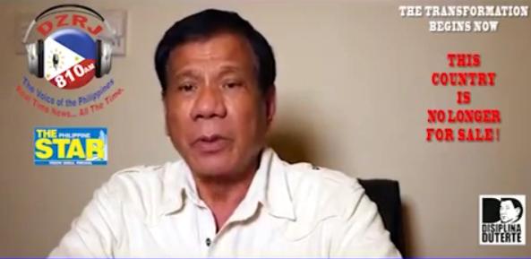 Mayor Rody Duterte