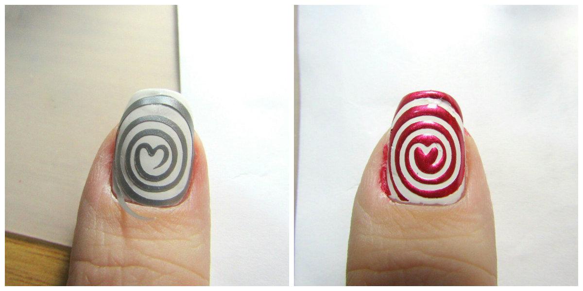 Штампик для ногтей