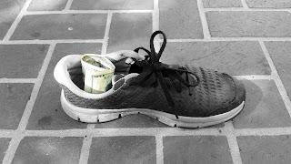 Cash Stash Shoe