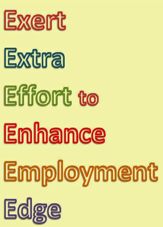 Exert Extra Effort to Enhance Employment Edge [Shy Job Seeker Blog]