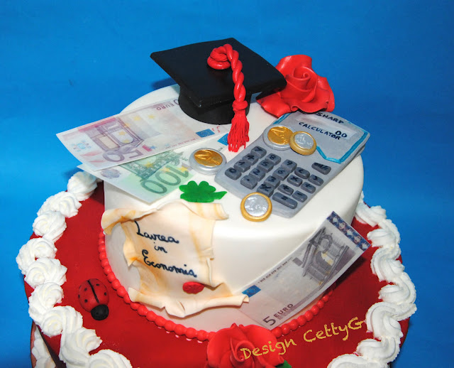 Super Le torte decorate di Cetty G: Laurea in economia LD96