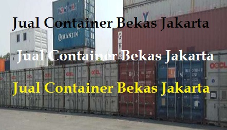 jual container bekas