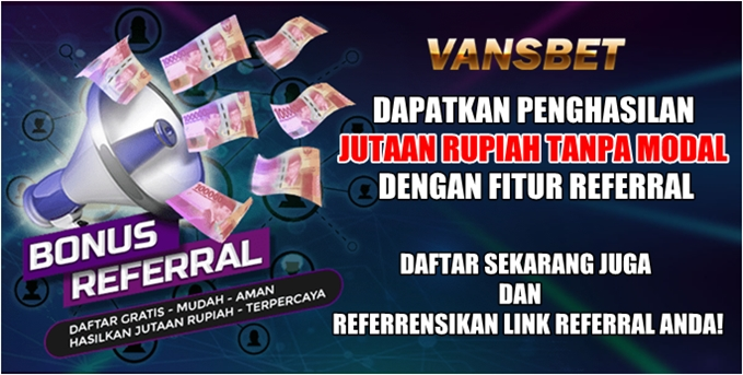 Bonus Referral Vansbet