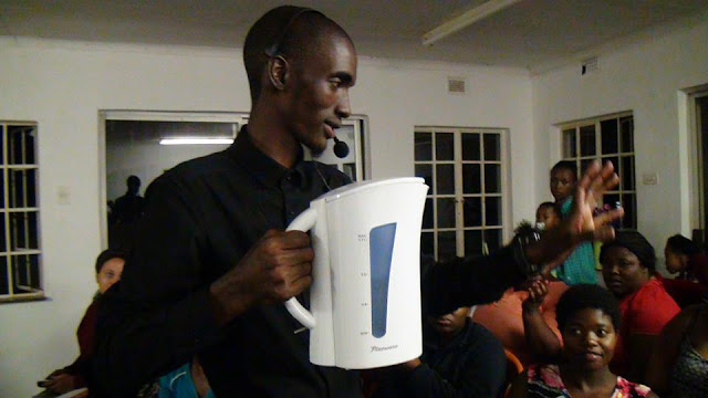 South Africa Pastor Performs Miracle By Pouring Boiling Water On The Congregants