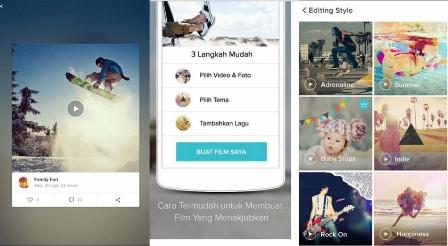 Pembuat Video Slideshow Foto Untuk Android