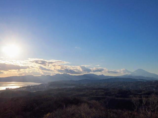 湘南平 高麗山公園 富士山