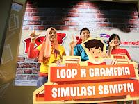 LOOP Dan Gramedia Gelar Simulasi SBMPTN 2017 Serentak Di 44 Kota