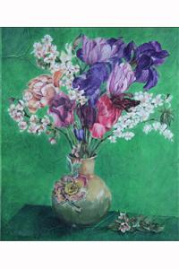"""Claudine Lecoustre : Bouquet de printemps - """"Après Fantin-Latour"""", Exposition de produits dérivés inspirés par l'univers du peintre Henri Fantin-Latour, Galerie de la Marraine"""