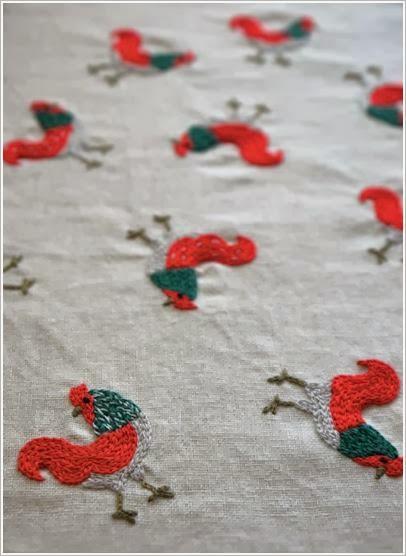 Чудесная вышивка гладью. Satin stitch