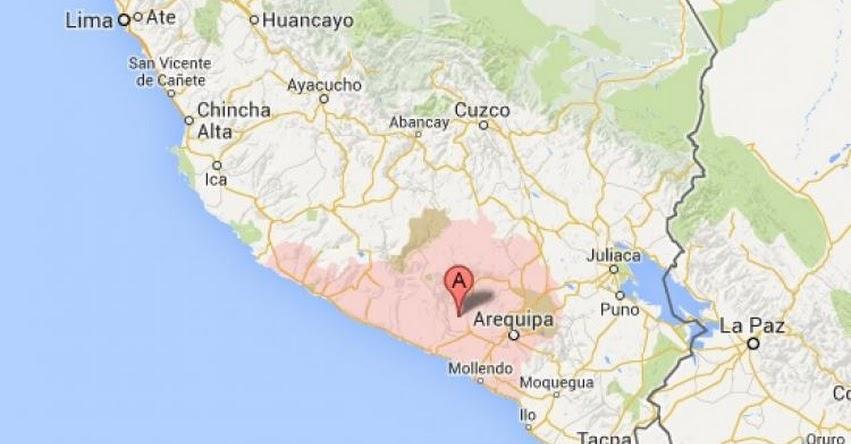 Terremoto en Arequipa de 6.4 Grados (Hoy Lunes 17 Julio 2017) Sismo EPICENTRO Temblor - IGP - www.igp.gob.pe