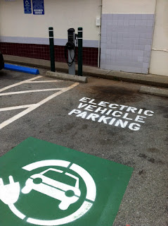 Discuss Electric Car Charging Station Causes Traffic