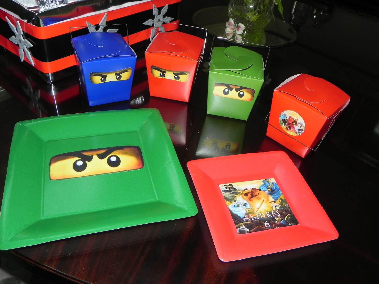 Adriana S Cookies Andres Ninjago Party