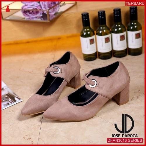 DFAN3016S170 Sepatu Tm02 Hak Tahu Wanita Sepatu Hak BMGShop