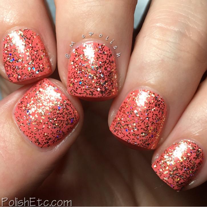 Kiara Sky Nail Lacquer - McPolish - Strike Gold