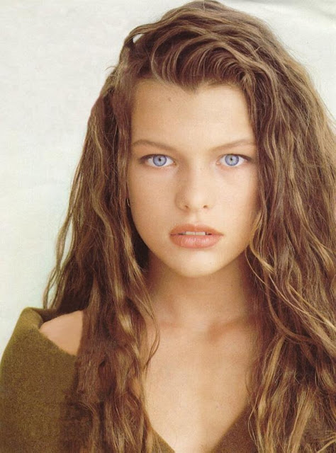 The hottest woman in the wolrd: Milla Jovovich
