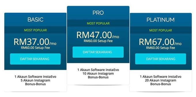 InstaEvo - Buat Duit Online dengan Instagram