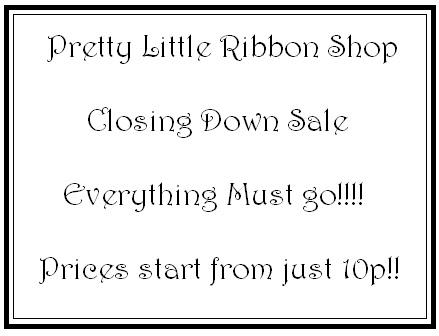 Craft Shop Closing Down Sale